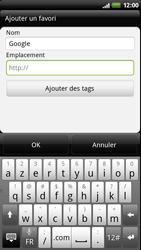 HTC Z710e Sensation - Internet - Navigation sur internet - Étape 6