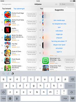 Apple iPad 9.7 (Model A1823) - Applicaties - Downloaden - Stap 8