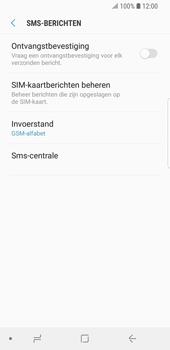 Samsung Galaxy S9 - SMS - handmatig instellen - Stap 10