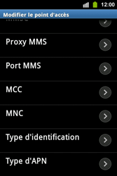 Samsung S5830i Galaxy Ace i - Mms - Configuration manuelle - Étape 13