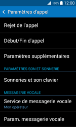 Samsung G318H Galaxy Trend 2 Lite - Messagerie vocale - configuration manuelle - Étape 6