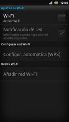Sony Xperia U - WiFi - Conectarse a una red WiFi - Paso 6