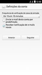 Huawei Ascend Y625 - Email - Configurar a conta de Email -  20