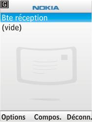 Nokia 6303i classic - E-mail - Configuration manuelle - Étape 11