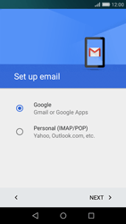 Huawei P8 Lite - E-mail - Manual configuration (gmail) - Step 8