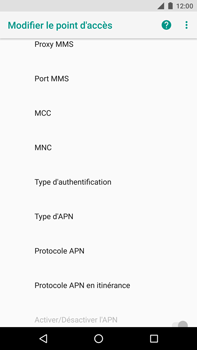 Huawei Nexus 6P - Android Oreo - MMS - Configuration manuelle - Étape 13