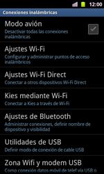 Samsung I8160 Galaxy Ace II - WiFi - Conectarse a una red WiFi - Paso 5