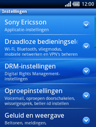 Sony Ericsson Xperia X10 Mini - Buitenland - Bellen, sms en internet - Stap 4