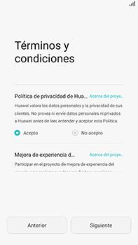 Huawei GX8 - Primeros pasos - Activar el equipo - Paso 7