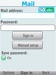 Nokia 301-1 - E-mail - Manual configuration - Step 7