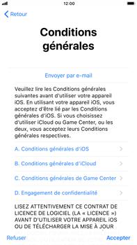 Apple iPhone 8 Plus - Premiers pas - Créer un compte - Étape 33