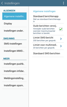 Samsung T335 Galaxy Tab 4 8-0 - SMS - Handmatig instellen - Stap 6
