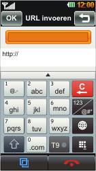 LG GD880 Mini - Internet - Hoe te internetten - Stap 4