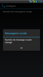 HTC Desire 516 - Messagerie vocale - Configuration manuelle - Étape 10