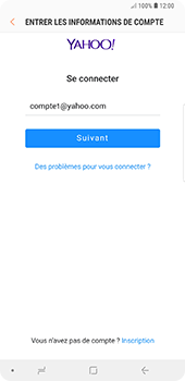 Samsung Galaxy Note9 - E-mail - Configuration manuelle (yahoo) - Étape 8