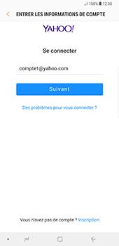 Samsung Galaxy Note 9 - E-mails - Ajouter ou modifier votre compte Yahoo - Étape 8