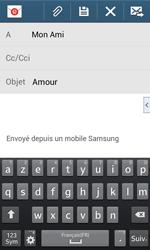 Samsung Galaxy S3 Lite (I8200) - E-mail - envoyer un e-mail - Étape 8