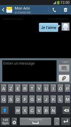 Samsung Galaxy S4 Mini - Contact, Appels, SMS/MMS - Envoyer un SMS - Étape 11