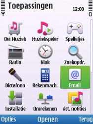 Nokia 6700 slide - E-mail - Handmatig instellen - Stap 5
