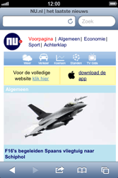 Apple iPhone 4S met iOS 6 (Model A1387) - Internet - Hoe te internetten - Stap 16