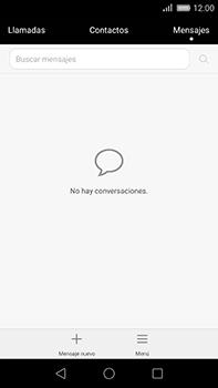 Huawei GX8 - Mensajería - Configurar el equipo para mensajes de texto - Paso 3