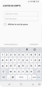 Samsung Galaxy S9 - E-mail - Configuration manuelle (outlook) - Étape 6