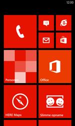 Nokia Lumia 720 - Voicemail - Handmatig instellen - Stap 1
