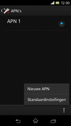 Sony C1905 Xperia M - Internet - Handmatig instellen - Stap 10