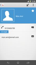 Sony Xpéria Z1 - Contact, Appels, SMS/MMS - Ajouter un contact - Étape 13