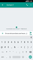 Motorola Moto C Plus - Contact, Appels, SMS/MMS - Envoyer un SMS - Étape 9