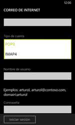 Nokia Lumia 635 - E-mail - Configurar correo electrónico - Paso 12