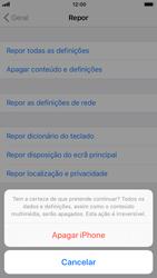 Apple iPhone 7 iOS 11 - Repor definições - Repor definições de fábrica do telemóvel -  8