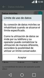 LG Leon - Internet - Ver uso de datos - Paso 9