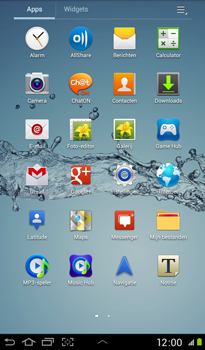 Samsung P3100 Galaxy Tab 2 7-0 - Internet - internetten - Stap 2