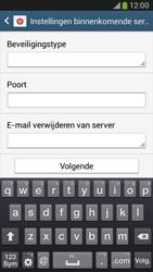Samsung C105 Galaxy S IV Zoom LTE - E-mail - handmatig instellen - Stap 9
