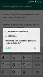 Samsung Galaxy S4 LTE - Aplicações - Como configurar o WhatsApp -  7