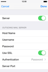 Apple iPhone 4s iOS 8 - Email - Manual configuration POP3 with SMTP verification - Step 19