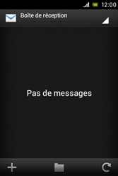 Sony ST23i Xperia Miro - E-mail - envoyer un e-mail - Étape 12