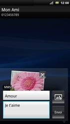 Sony Ericsson Xperia Arc - MMS - envoi d'images - Étape 12