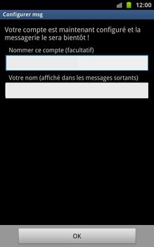 Samsung N7000 Galaxy Note - E-mail - Configurer l