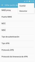 Samsung Galaxy S7 - Mensajería - Configurar el equipo para mensajes multimedia - Paso 13