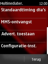 Nokia Asha 300 - MMS - automatisch instellen - Stap 9