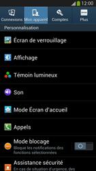 Samsung Galaxy S4 - Sécuriser votre mobile - Activer le code de verrouillage - Étape 5