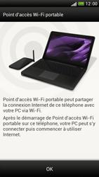HTC One S - Internet et connexion - Partager votre connexion en Wi-Fi - Étape 7