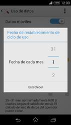 Sony D2203 Xperia E3 - Internet - Ver uso de datos - Paso 7