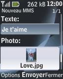 Nokia 2330 classic - MMS - envoi d'images - Étape 16