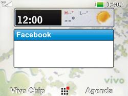 LG C365 - Internet - Como configurar seu celular para navegar através de Vivo Internet - Etapa 1