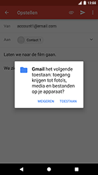 Google Pixel - E-mail - Bericht met attachment versturen - Stap 15