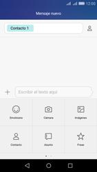 Huawei Huawei Y6 - Mensajería - Escribir y enviar un mensaje multimedia - Paso 9