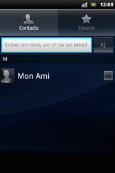 Sony Ericsson Xperia Mini Pro - Mms - Envoi d